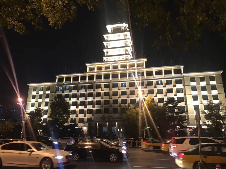 中国联通大厦景观照明改造
